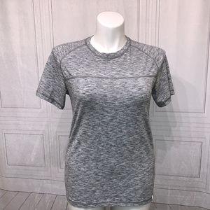 American Eagle Outfitters Gray White T-Shirt M